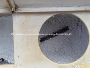 Измельчаем пенопласт в центрифуге для изготовления полистиролбетона