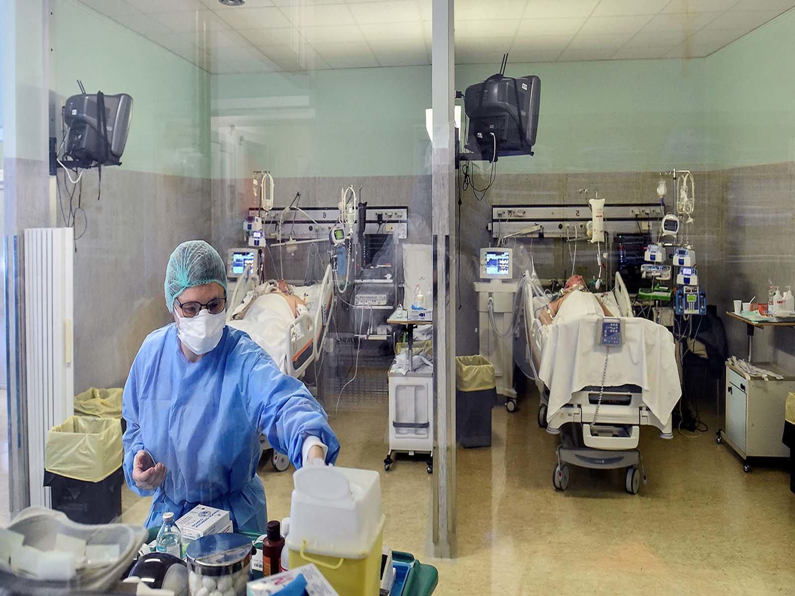 Снос госпиталя для больных коронавирусом в Ухане
