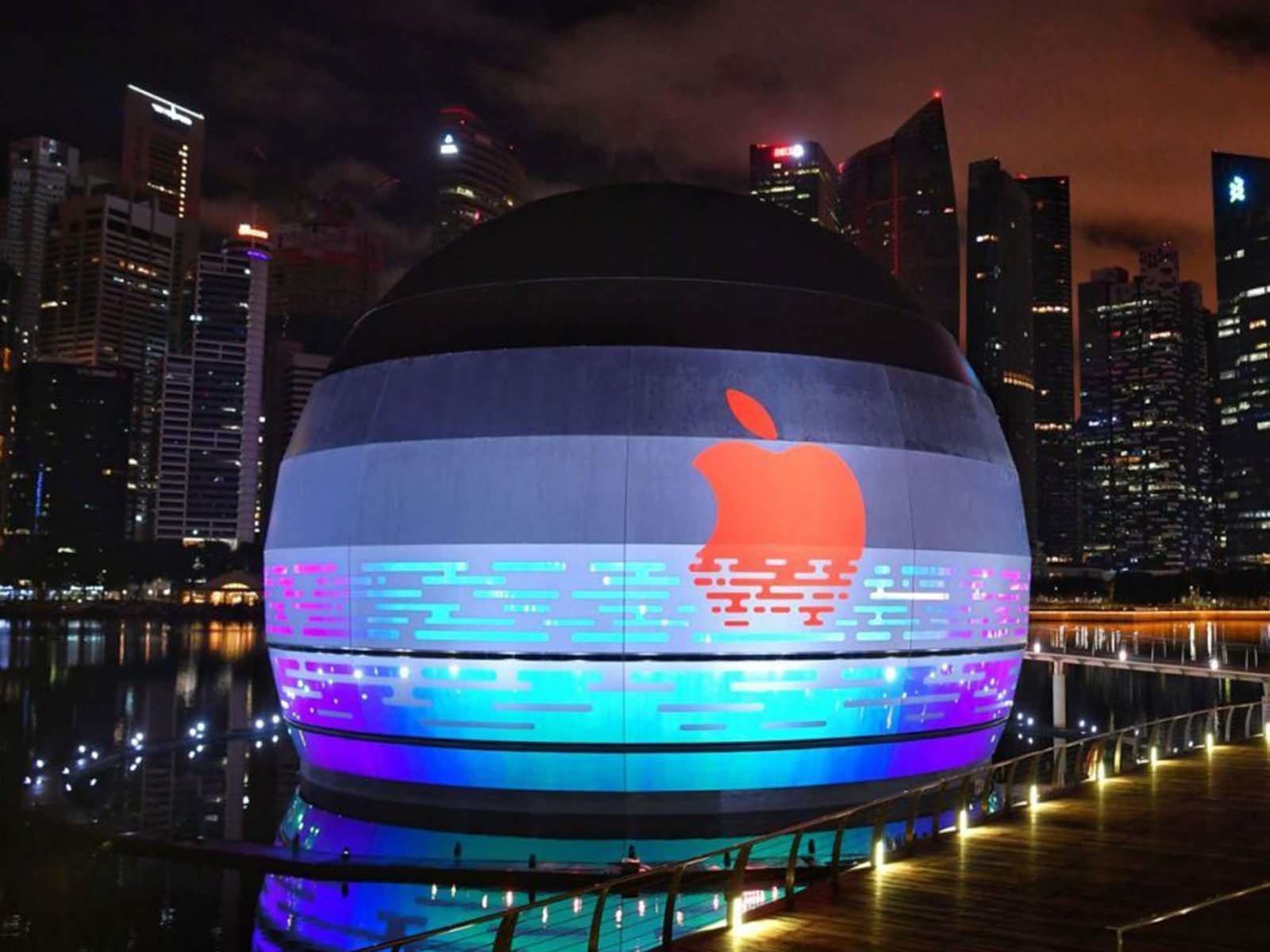 Уникальный магазин Аpple Stоre в Сингапуре