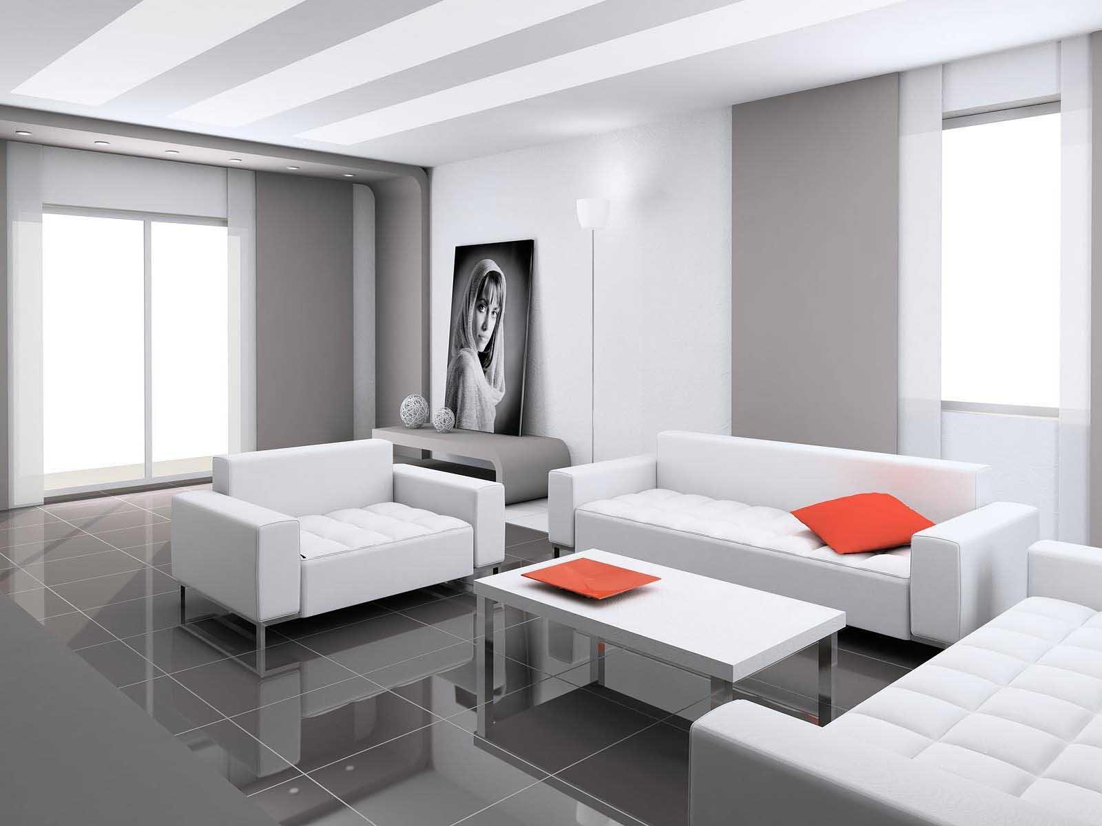 Минимализм в квартире подходит для спокойных людей
