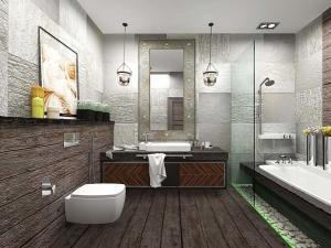 Ванная комната в стиле лофт своими руками