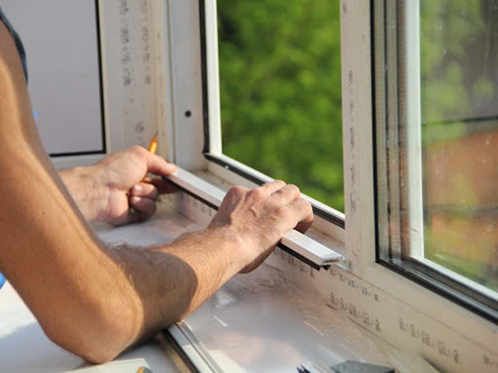 Устанавливаем стеклопакет ПВХ окна своими руками