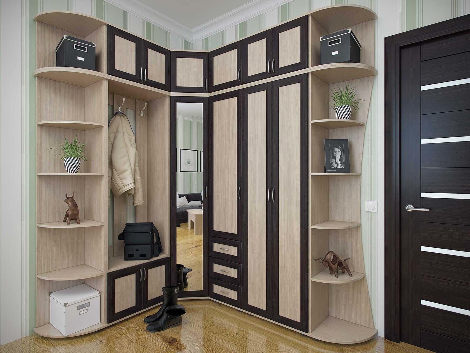Правильная мебель - залог удачной прихожей комнаты