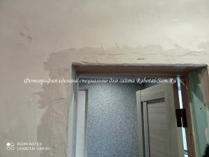 Изготовление красивых откосов из гипсокартона для двери