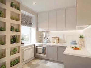 Как с маленькой кухни сделать современную и просторную