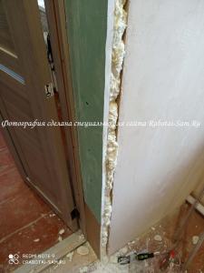 Изготовление дверных откосов в доме своими силами