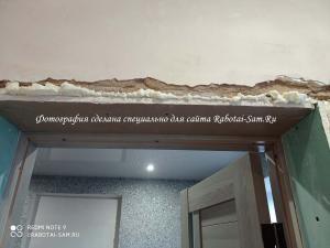 Дверные откосы в доме своими руками без помощи специалистов