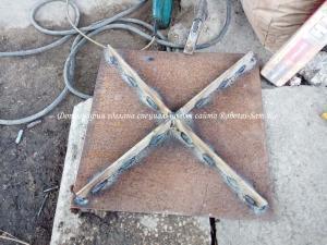 Изготовление надежной крышки смотрового колодезя