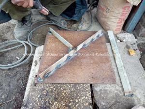 Изготовление крышки смотрового колодезя