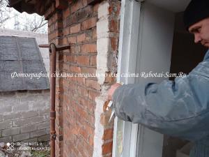 Выбиваем ненужную перегородку деревянного окна