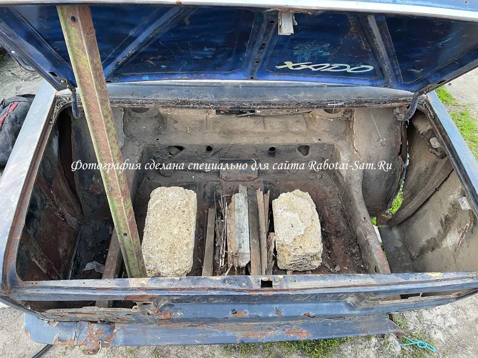 Обустройство мангала из жигулей своими руками в багажнике