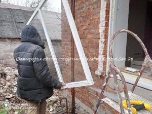Снимаем старое окно с детской комнаты своими руками