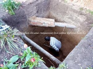 Правильная сливная яма на участке загородного дома