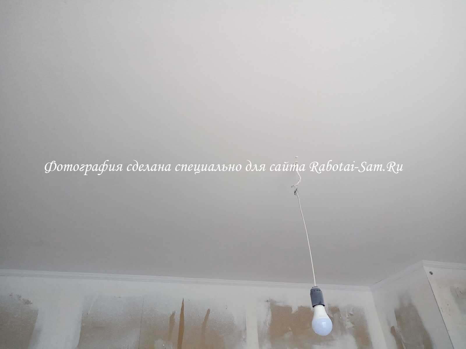 Ремонт потолка в детской комнате своими руками