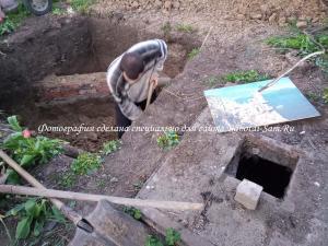 Копаем сливную яму в частном доме собственноручно