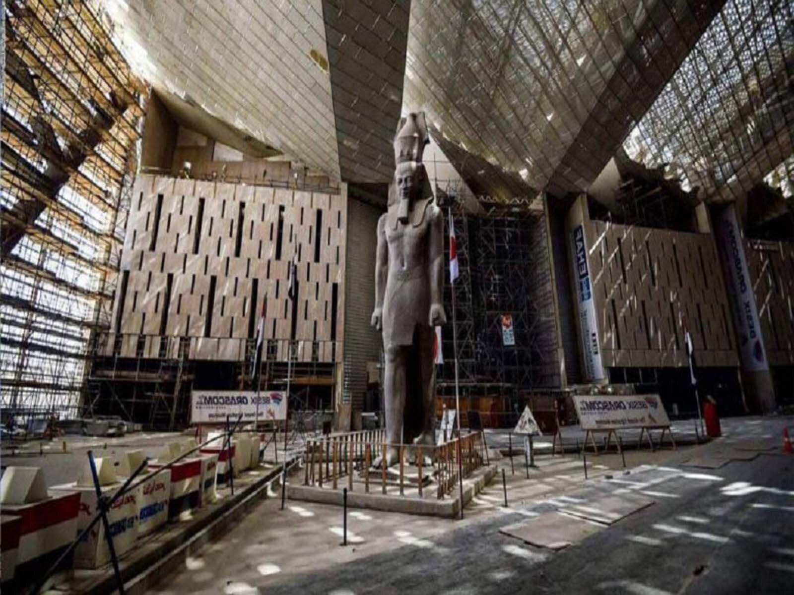 Открытие Большого Египетского музея в Каире в 2021 году