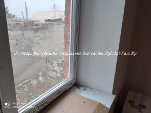 Новые откосы для металлопластикового окна своими руками