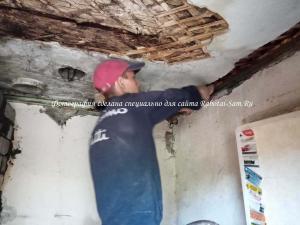 Подготовка потолка в кухне своими руками