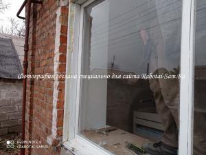 Бережный демонтаж старого деревянного окна своими руками