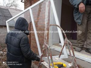 Демонтаж старого окна в доме своими руками
