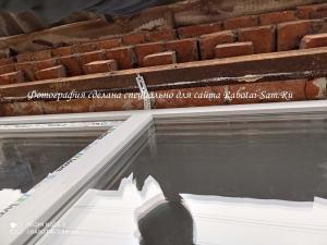Монтаж окна в оконном проёме своими руками