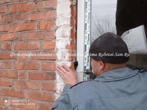 качественный монтаж окна в частном доме зимой